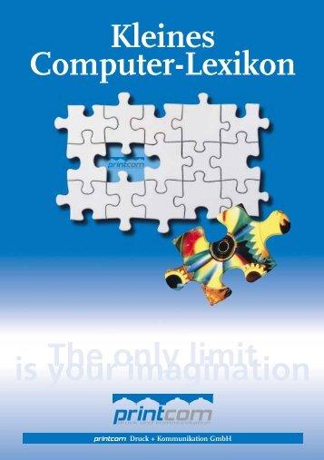 Kleines Computer-Lexikon - Printcom