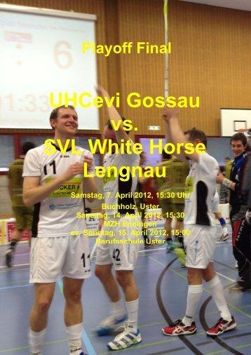 UHCevi Gossau vs. SVL White Horse Lengnau