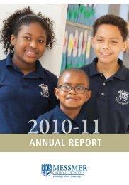 ANNUAL REPORT - Messmer Catholic Schools