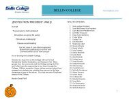 BSN Exit Survey: Class of 2010 – May: Results - Bellin College