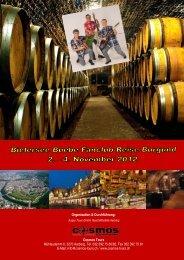 Bielersee Buebe Fanclub-Reise Burgund 2012 - Gruppenreisen-4u
