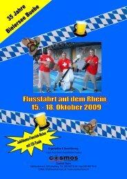 Rheinschifffahrt 2009 - Bielersee Buebe
