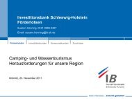 Investitionsbank Schleswig-Holstein Förderlotsen - E-Formation GmbH