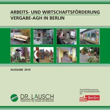 Vergabe-AGH in Berlin - Dr. Lausch GmbH & Co. KG
