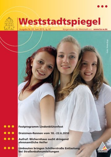 Weststadt - KA-News