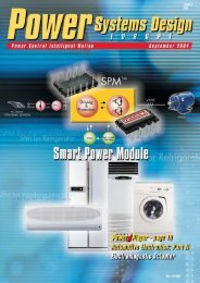 September - Power Systems Design