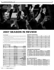 2007 season in review