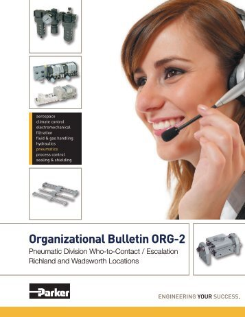 Organizational Bulletin ORG-2 - Parker Hannifin - Solutions for the ...