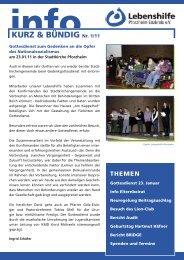 spender .2010 - Lebenshilfe Pforzheim Enzkreis eV