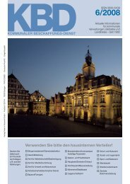 A–Z für die kommunale Beschaffung - kbdonline.de