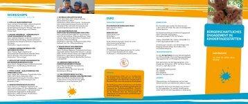 bürgerschaftliches engagement in kindertagesstätten - Wir tun was