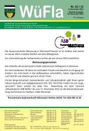 Nr. 22 / 12 - Gemeinde Wünnewil-Flamatt