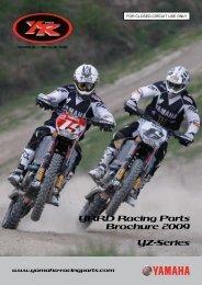 YRRD Racing Parts Brochure 2009 YZ-Series - Yamaha ...