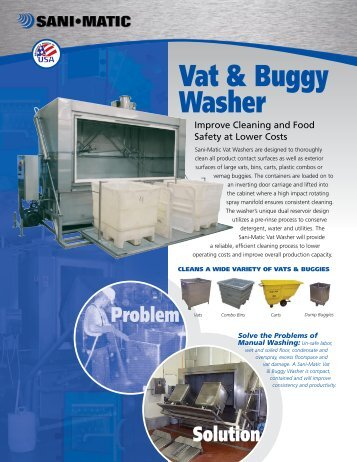 Vat & Buggy Washer