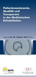Programm - IQMG Institut für Qualitätsmanagement im ...