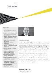 Tax News – April 2011 - Home - Ernst & Young - Schweiz