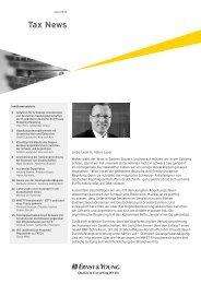 Tax News – Juni 2012 - Home - Ernst & Young - Schweiz