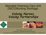 Valuing Nurses, Valuing Partnerships - rm solutions