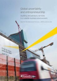 Global uncertainty and entrepreneurship - Home - Ernst & Young ...