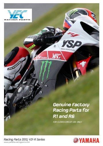 YZF-R6 Racing Parts - Yamaha-RacingParts.com