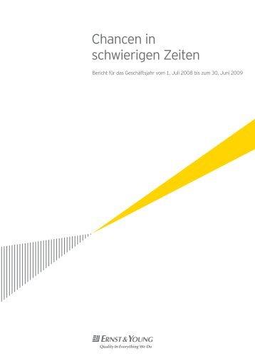 Chancen in schwierigen Zeiten - Home - Ernst & Young - Schweiz
