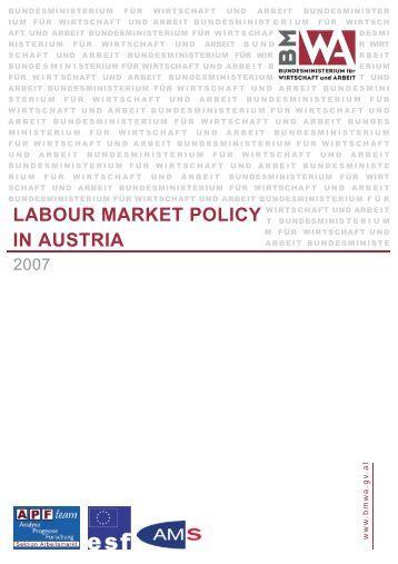 Kern labour Market Policy:arbeitsmarkt2004 220305