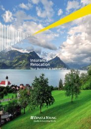 Insurance Relocation - Home - Ernst & Young - Schweiz