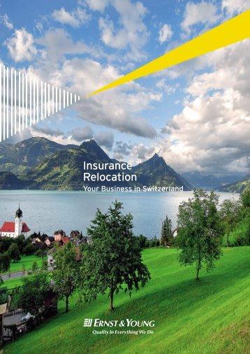 Insurance Relocation - Home - Ernst & Young - Schweiz