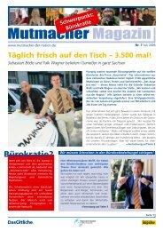 Mutmacher Magazin 7/2006 - FahrBar - cocktails & music