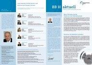 BB H aktuell - Bürgschaftsbank Hessen