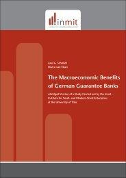 The Macroeconomic Benefits of German Guarantee Banks - Inmit