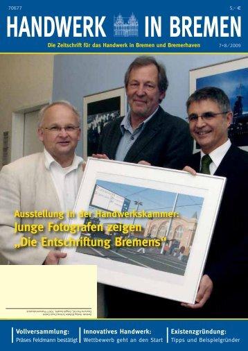 Junge Fotografen zeigen - Handwerkskammer Bremen