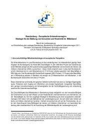 Brandenburg – Europäische Unternehmerregion Strategie für die ...