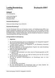 Landtag Brandenburg Drucksache 5/5917 - Brandenburg.de