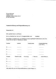 Hausbankerklärung (BoB) - Bürgschaftsbank Hessen