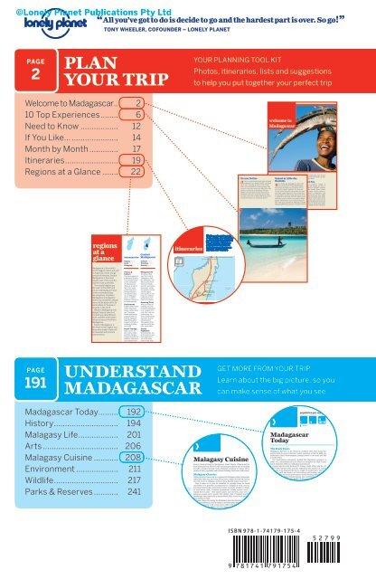 Madagascar 7 Contents