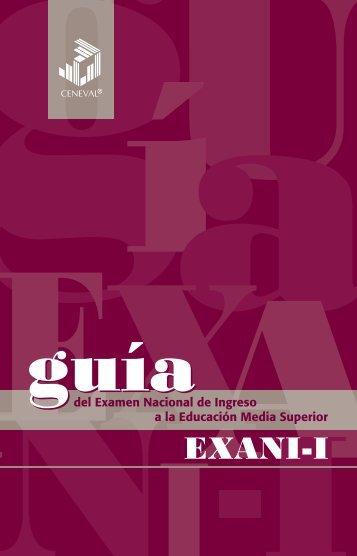GuiadelEXANI-I2012