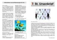 St. Ursenbrief