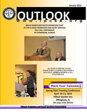 Mark Your Calendars Spring 2012 Training Conference ... - IPCSA