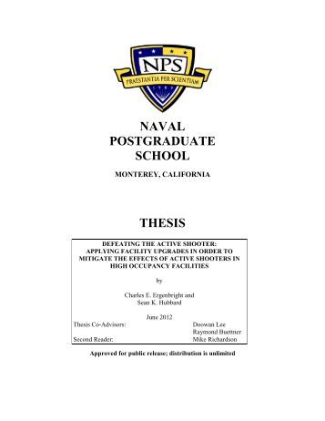 naval postgraduate school thesis 2010 Naval postgraduate school monterey, california event logo of the 2010 european signal regimental ball support from my thesis committee.