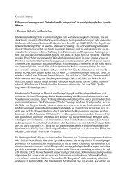 interkulturelle Integration - Prof. Dr. Christian Büttner