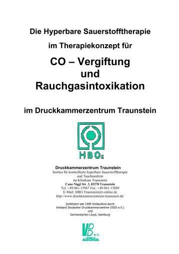 CO – Vergiftung und Rauchgasintoxikation - Druckkammerzentrum ...