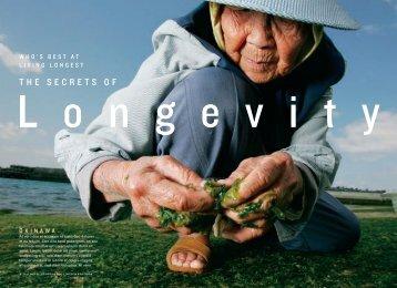 Secrets of Longevity - Blue Zones