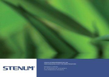 STENUM Informationsfolder - STENUM GmbH