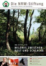 wildnis zwischen rost und schlacke - NRW-Stiftung