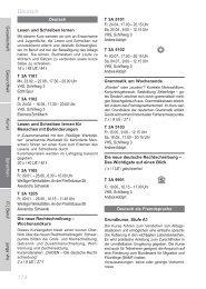 174 Deutsch - Volkshochschule Dresden