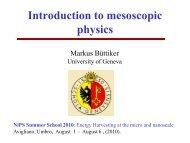 Introduction to mesoscopic physics