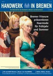 Bremer Friseure präsentieren Haarmode für Frühjahr und Sommer