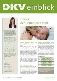 Unisex – der Countdown läuft - die Regioseiten