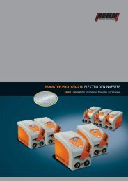 BOOSTER.PRO 170/210 ELEKTRODENINVERTER - Drumm GmbH